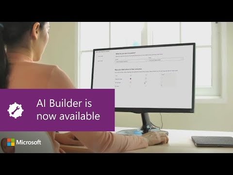 AI Builder is now available