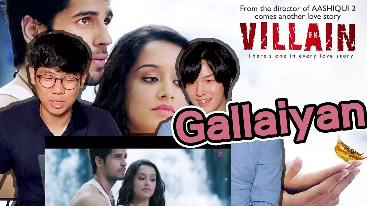 Koreans React to Galliyan Song! | Ek Villain | Ankit Tiwari | Sidharth Malhotra x Shraddha Kapoor