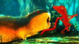 ВЯЗАНЫЙ БЕНДИ как мультяшный котенок. Мышь гонится за красным вязаным котиком #4 #ПУРУМЧАТА