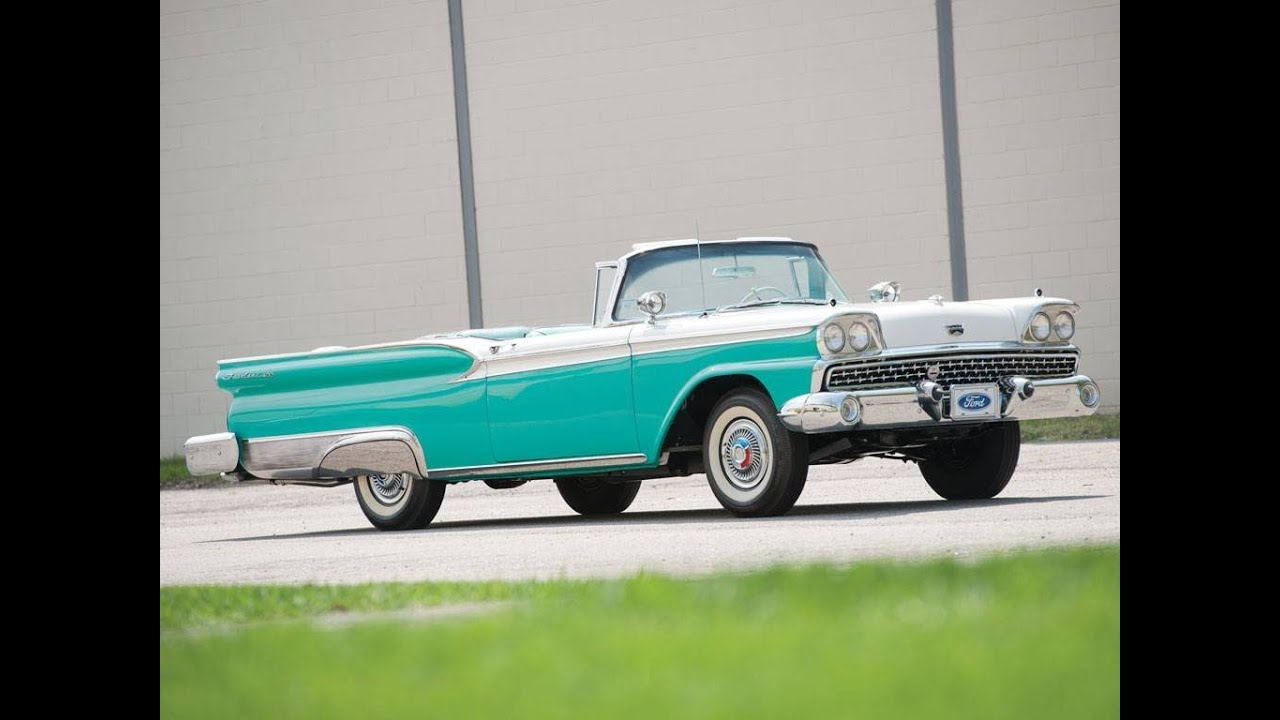 1959 Ford Fairlane 500 Wiring Diagrams Reinvent Your Diagram Pinto Starter Galaxie Skyliner Retractable Hardtop Youtube Rh Com Harness 1974