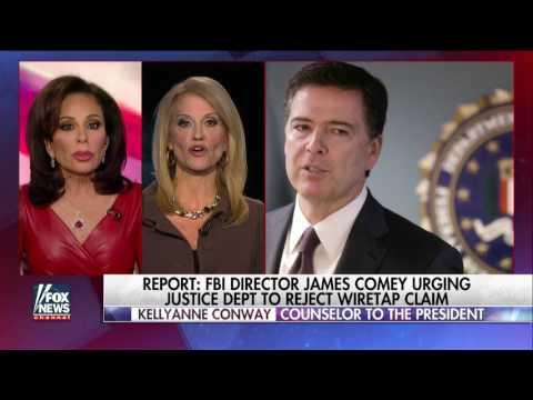 Kellyanne Conway Challenges Comey To Release Info on Trump's Wiretap Allegation