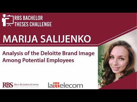 RBS Bachelor Theses Challenge 2018 - Marija Salijenko