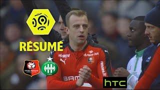 Stade Rennais FC - AS Saint-Etienne (2-0)  - Résumé - (SRFC - ASSE) / 2016-17