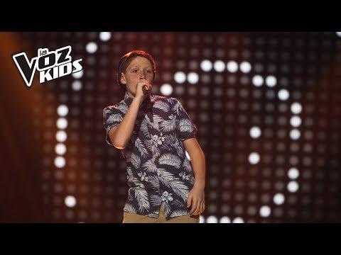Juan Francisco canta Locked Out of Heaven - Audiciones a ciegas | La Voz Kids Colombia 2018