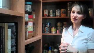 Stephanie's California Closets Pantry | Custom Cabinets Texas