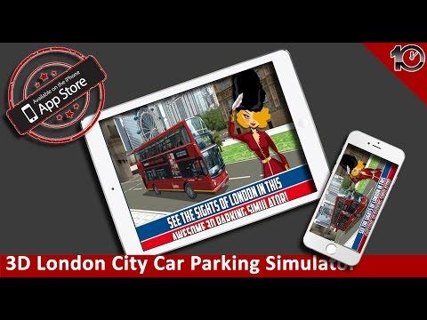 iPhone/iPad Parking Game - 3D London City Car Parking Simulator