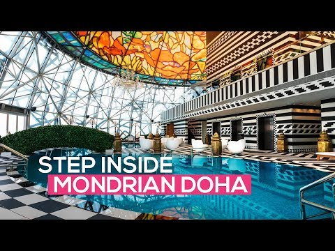 Mondrian Doha: You've never seen a hotel like this before!
