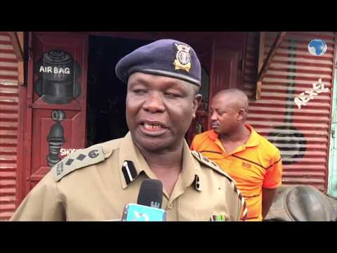 Stolen Spare parts discovered at a spare parts store in Magongo, Changamwe