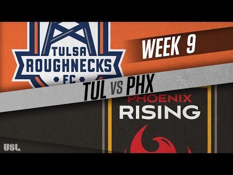 Tulsa Roughnecks FC vs Phoenix Rising FC: May 12, 2018