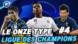 VIDEO: Le onze type de la Ligue des Champions #4