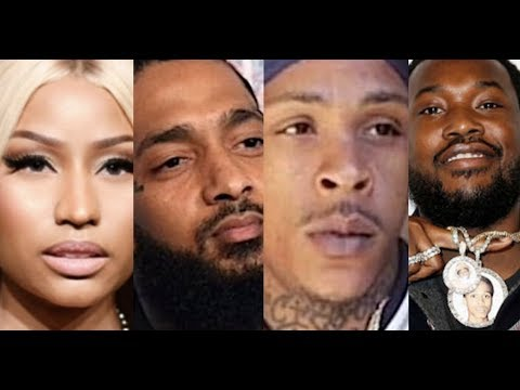 Nicki Minaj Rumored to Be Pregnant? Nipsey Hussle Team Speaks Out on Eric Holder and Clothing