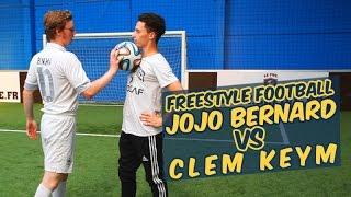 Du elle foot fristyle - Jojo Bernard VS Clem Keym