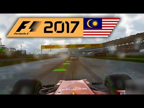 Monsunregen. Na super. | Malaysia 1/2 🎮 F1 2017 #35