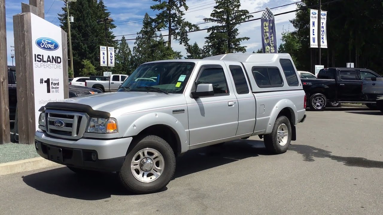 2007 Ford Ranger Sport SuperCab Manual +Canopy Review | Island Ford & 2007 Ford Ranger Sport SuperCab Manual +Canopy Review | Island Ford ...