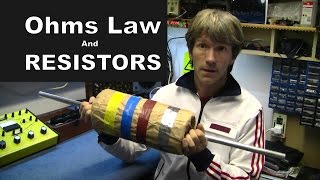 Repeat youtube video MF#38 Ohms law and how to read resistor colour codes