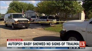 Autopsy results in Franklin baby death