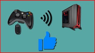 Jouer avec une manette xbox 360 sans fil sur PC !