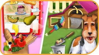 Sweet Baby Girl Cleanup 4 - House, Pool & Stable #7   TutoToons   Educational   HayDay