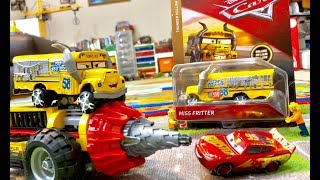 NEW Disney Cars 3 Toys - 2018 Matte Miss Fritter Review MAYHEM 60188 Lego City Mining Experts Site