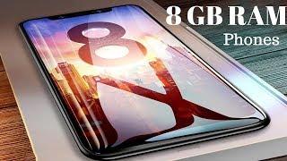 Top  5 BEST Powerful Smartphones -All 8 GB RAM- BEST of 2018