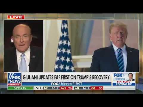 Mayor Giuliani on Covid: We don't have to be paralyzed by it, the Democrats want to paralyze us