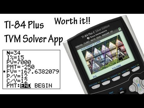 TI-83 and TI-84 Cash Flows (NPV and IRR) | Doovi