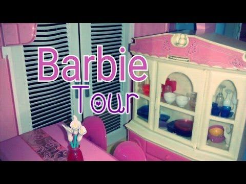 Tour casa de los sue os de barbie 2015 pt1 barbie - Casa de barbie ...