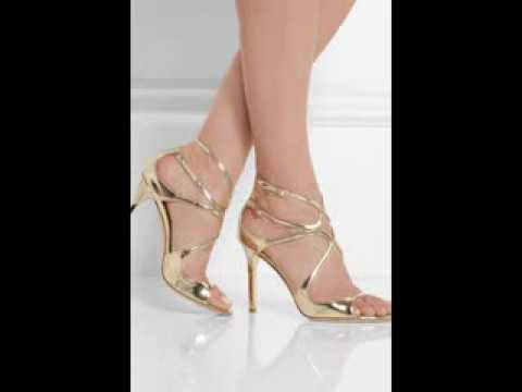 Espectaculares zapatos dorados delicados y elegantes for Zapateros elegantes