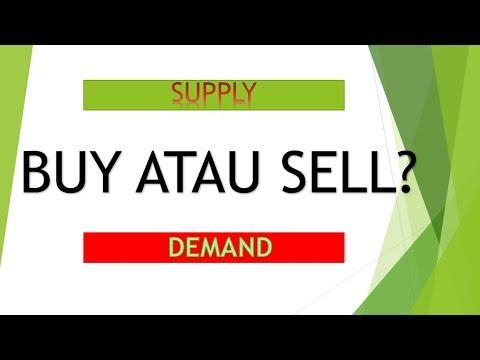Jika Harga diantara Supply dan Demand