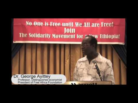 Dr. George Ayittey at SMNE Conference Part I
