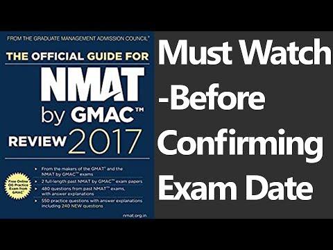 NMAT FAQ's - Cut off? Negative Marking? Best date to book exam? Calculator? Must Watch Video