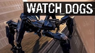WATCH DOGS DIGITAL TRIPS - Spider Tank & Madness (Zombies) Gameplay