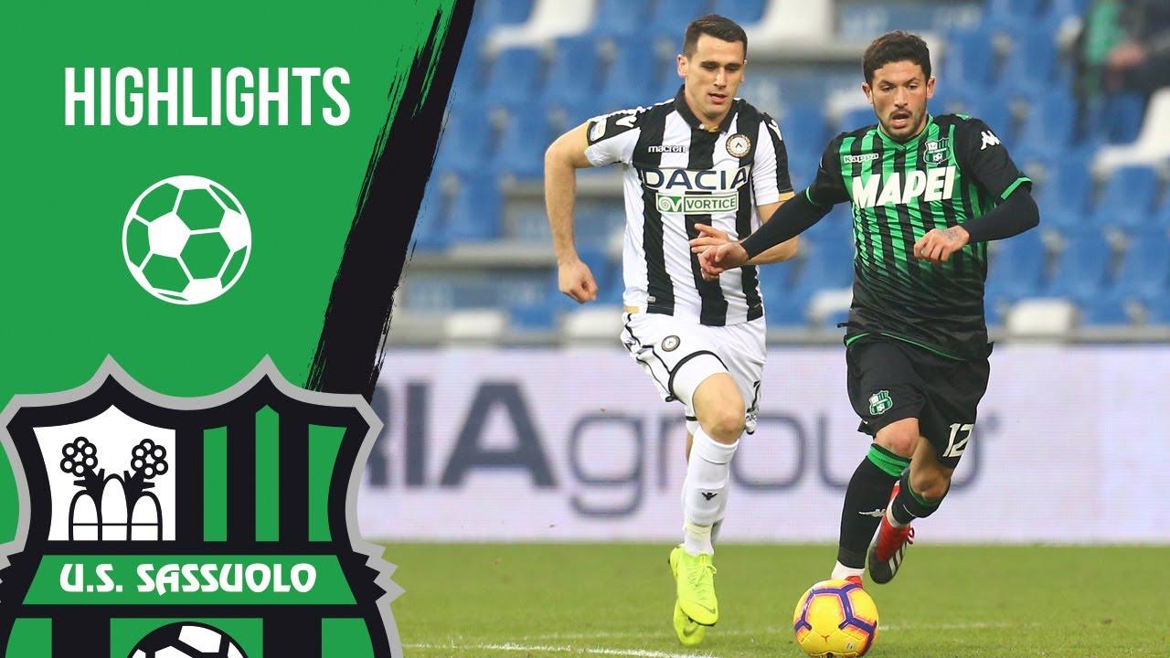 Sassuolo Udinese 0 0 Highlights 2018 19 YouTube