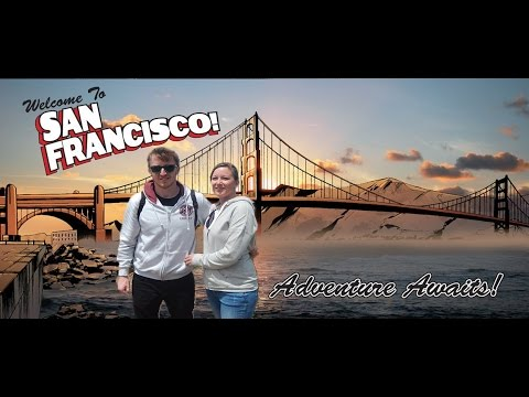 San Francisco (Golden State) Tour - Visit America - Californian Road Trip Vlog - Alcatraz Island etc