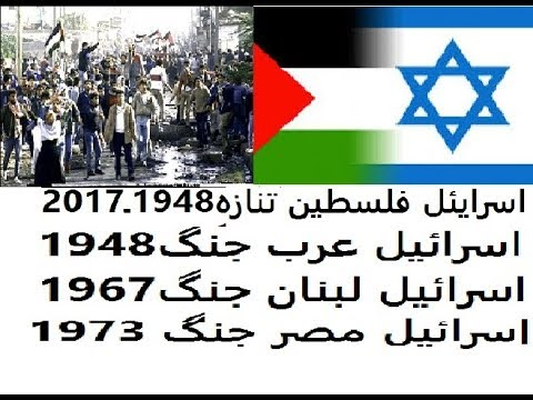 A History of Israel Palestine conflict in Urdu/Hindi