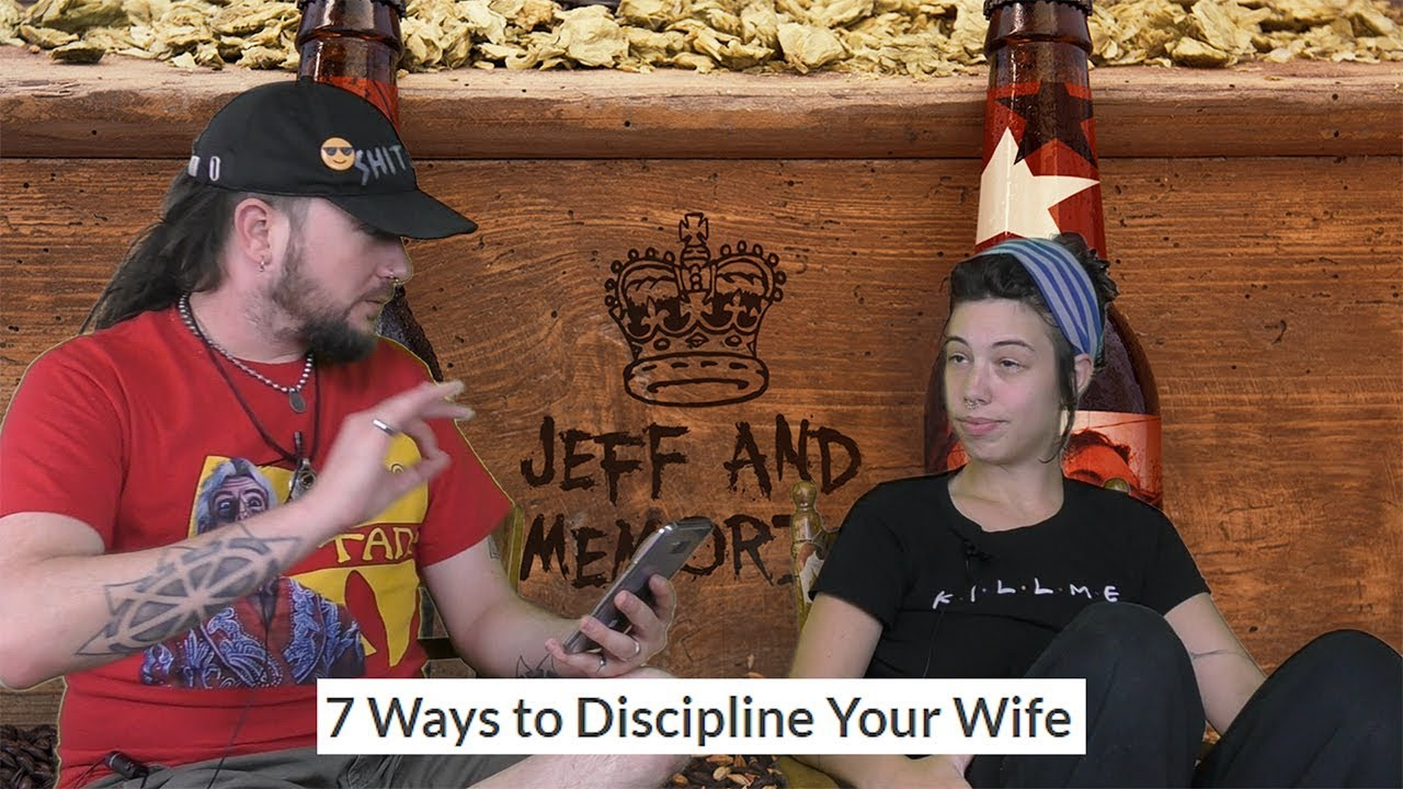my wife spanks me for discipline