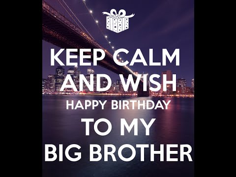 HAPPY BIRTHDAY BIG BROTHER E Card Category Birthday