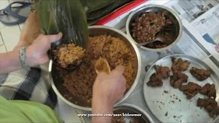 How To Wrap A Rice Dumpling (zongzi 粽子)