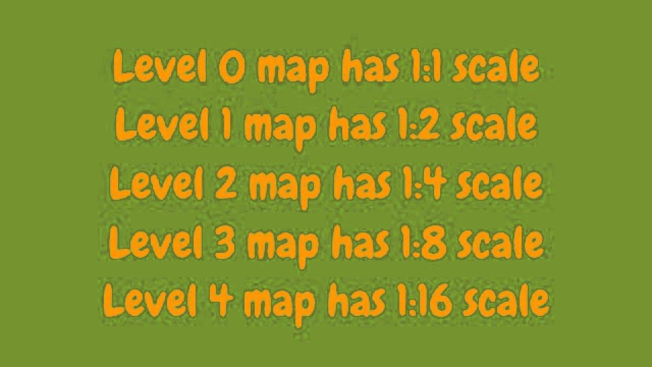 How to increase map level (size) in Minecraft [1 7 4]