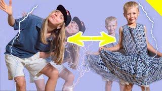 ЧТО СЛУЧИЛОСЬ как Сережа и Дарина поменялись телами? family kids