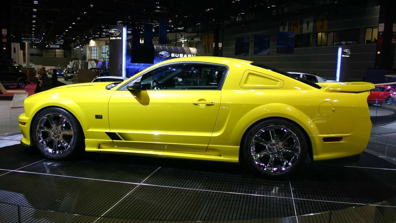 Saleen Ford Mustang S281 Extreme 2005 Youtube