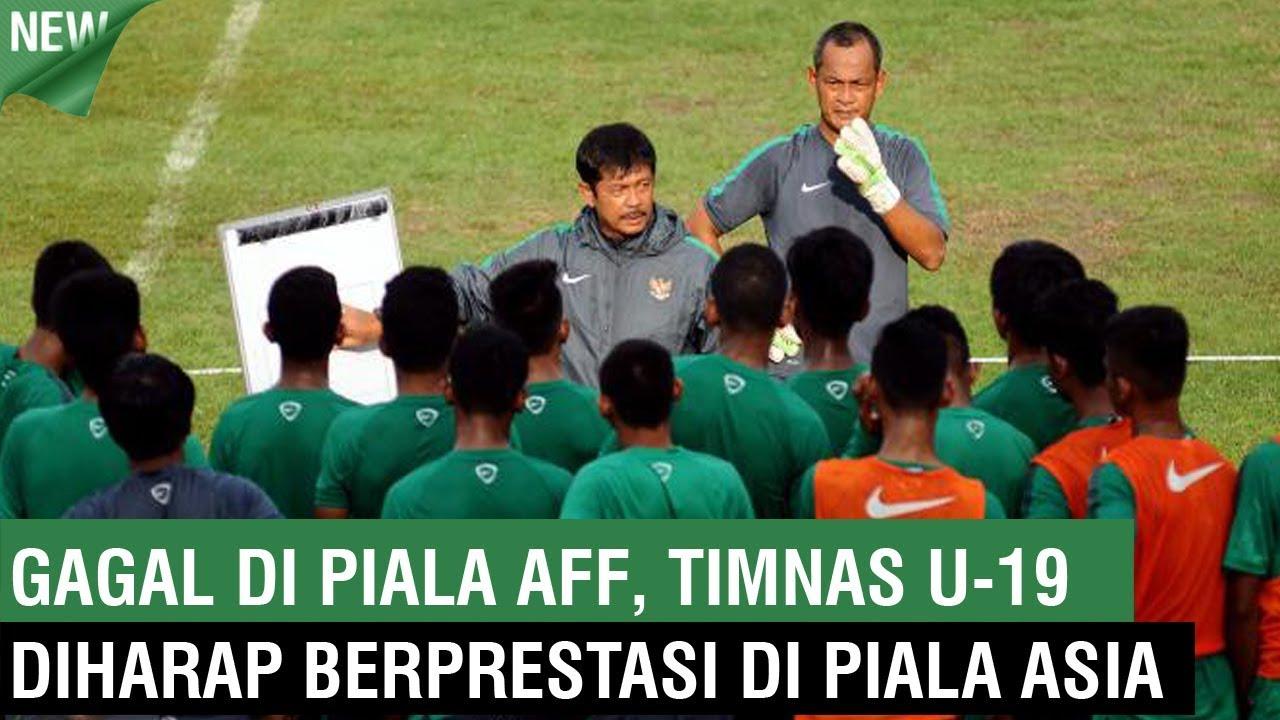 Gagal di Piala AFF, Timnas U 19 Diharap Berprestasi di Piala Asia