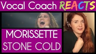 Vocal Coach Reacts To Morissette Cover Stone Cold