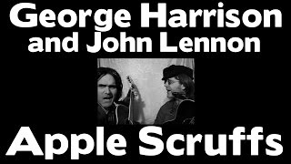 George Harrison At John Lennons House - Apple Scruffs