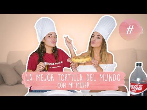 COCINANDO LA MEJOR TORTILLA DEL MUNDO - DULCEIDA Y ALBA