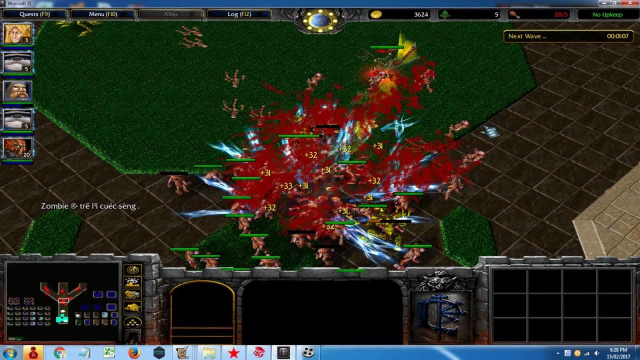 Warcraft : Darkness Reborn - New Hero (Blademaster II) version 2.8