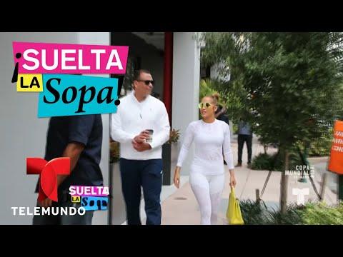 Jennifer Lopez sigue disfrutando del amor en Miami con Arod   Suelta La Sopa   Entretenimiento