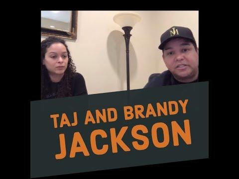 Cabrera Santana:  An Interview with Taj & Brandi Jackson