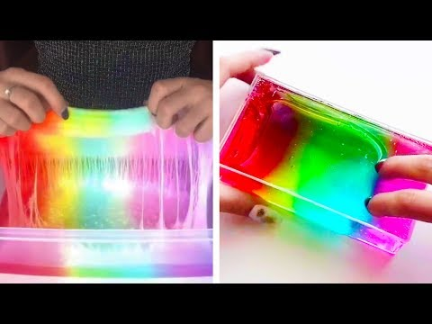 1 Hour of The Most Satisfying Slime ASMR Videos | New Oddly Satisfying ASMR 2019 #6