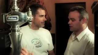 El arte de tirar una caña - VIAJANDO CON DIEGO en Cerveceria Cervantes - MAHOU
